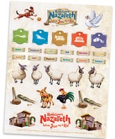 Hometown Nazareth VBS 2015: Sticker Sheets, Pack of 10