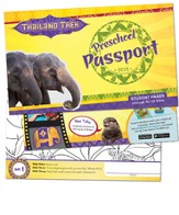 Thailand Trek VBS 2015: Preschool Passport Pages, Pack of 40 / 10 students)