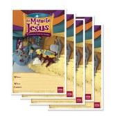 Miracle of Jesus Publicity Posters, pack of 5