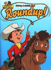 The Adventures of Bailey and Canteen: Roundup!  Coloring and Activity Book