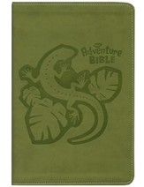 NIrV Adventure Bible for Early Readers, Italian Duo-Tone ™, Jungle Green - Imperfectly Imprinted Bibles