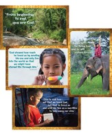 Thailand Trek VBS 2015: Bible Verse Posters, Set of 4
