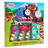 Thomas & Friends: Right On Time Rescues Toolbox Play-A-Sound Book