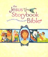 The Jesus Storybook Bible, Deluxe Edition with CDs  - Slightly Imperfect