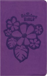 NIrV Adventure Bible for Early Readers, Italian Duo-Tone ™, Tropical Purple - Slightly Imperfect