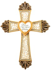 Memorial Cross with Locket