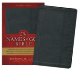 GWT The Names of God Bible, Imitation leather, black