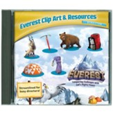 Everest VBS 2015: Everest Clip Art & Resources CD