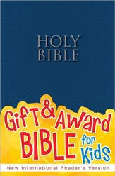 NIrV Gift & Award Bible, Blue Softcover
