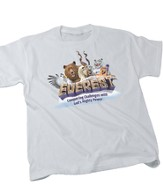 Everest VBS 2015: Bagged Everest Theme Adult T-Shirt (Small 34-36)