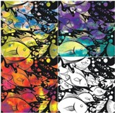 Wonderful Watercolor Design Paper (4 designs; 24 sheets)