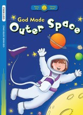 God Made Outer Space Coloring Book