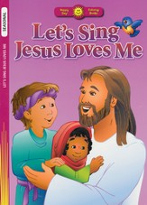 Let's Sing Jesus Loves Me Coloring Book