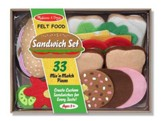 Felt Food, Sandwich Set