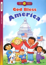 God Bless America, Coloring Book  - Slightly Imperfect