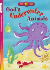God's Underwater Animals Coloring Book