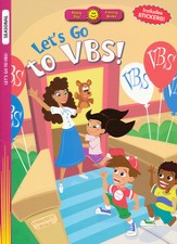 Let's Go to VBS! Coloring Book