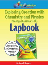 Apologia Exploring Creation with Chemistry and Physics  Lapbook Package Lessons 1-14 (Printed Edition)