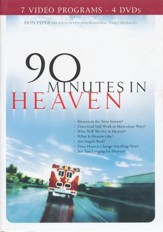 90 Minutes in Heaven DVD, 4 DVD's