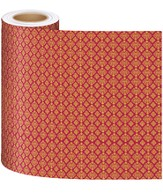 Thailand Trek VBS 2015: Patterned Decorating Paper: Red (3 Rolls / 15' x 3' each)