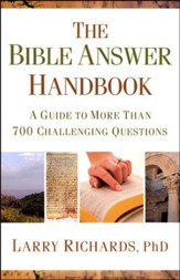 The Bible Answer Handbook: A Guide to More Than 700 Challenging Questions - Slightly Imperfect