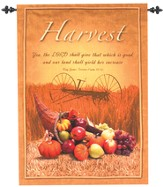 Harvest Wallhanging...the Lord shall give      Which is Good