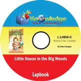 Little House in the Big Woods Lapbook PDF CD-ROM