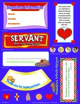 FaithWeaver Friends Elementary Activity Stickers (pkg 5), Fall 2015