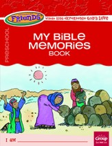FaithWeaver Friends Preschool Student Book My Bible Memories, Fall 2015