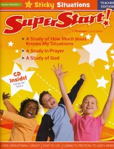 SuperStart! Sticky Situations, Teacher Edition with CDROM, Volume 1, Number 1