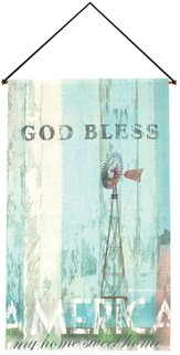 God Bless America Wallhanging