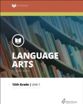 Lifepac Language Arts, Grade 12, Complete Set