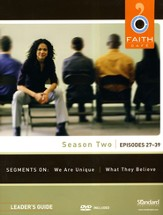 Faith Café Season Two: Episodes 27-39, Leader's Guide with DVD
