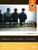 Faith Café Season Two: Episodes 40-52, Leader's Guide with DVD