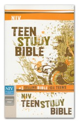 NIV Teen Study Bible, Softcover
