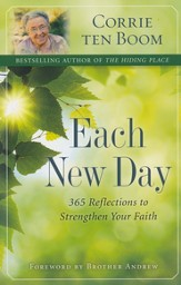 Each New Day: 365 Reflections to Strengthen Your Faith  - Slightly Imperfect