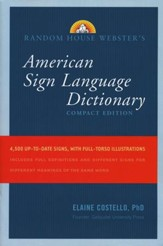 Webster's American Sign Language Dictionary, Compact Edition