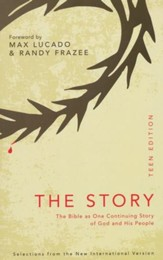 The Story: Teen Edition: Read the Bible as one seamless story from beginning to end, Softcover - Slightly Imperfect