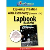 Apologia Exploring Creation with Astronomy Lapbook Package Kit (Lessons 1-14)
