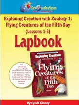 Apologia Exploring Creation with Zoology 1: Flying Creatures of the 5th Day Lessons1-6 Lapbook Kit