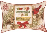 Every Moment is a Blessings, Cardinal and Birdhouses Pillow