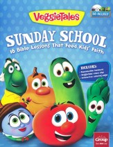 VeggieTales Sunday School: 16 Bible Lessons That Feed Kids' Faith