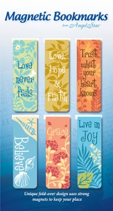 You Are Loved, Assorted Magnetic Bookmarks, Set of 6
