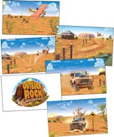 Outback Rock VBS 2015: Giant Decorating Posters (5' x 3'), set of 6