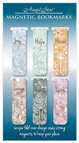 Sentiment Magnetic Bookmarks, Set of 6