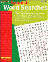 Spanish Word Searches, Book 1