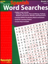 Spanish Word Searches, Book 2
