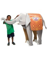 Thailand Trek VBS 2015: Elephant 3D Display (4 ft tall)