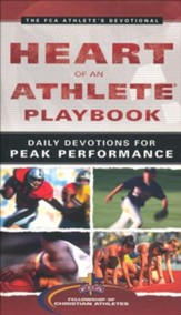 Heart of an Athlete Playbook: Daily Devotions for Peak Performance