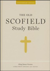 KJV Old Scofield® Study Bible, Large Print, Hardcover
